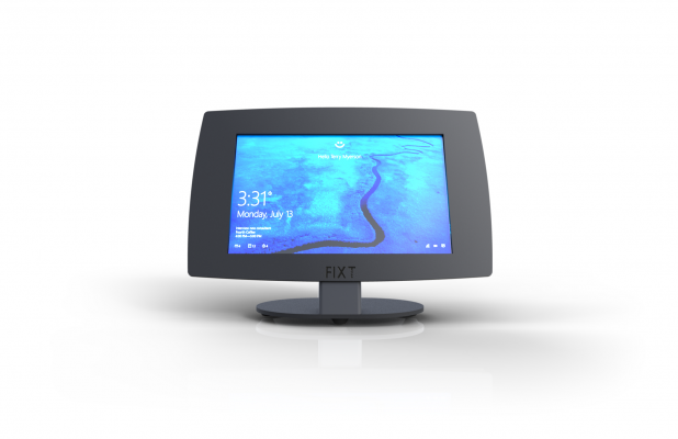 Soporte Tablet Mesa Mostrador Antivibración Durabildiad Branding
